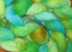 Dyed Braid-Crockery blues greens