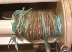 Yarn with Feathers